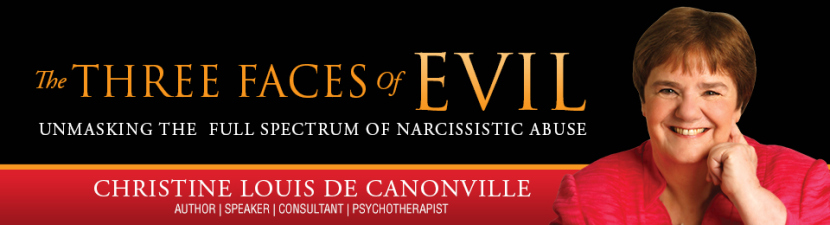 """The Three Faces Of Evil by Christine Louis De Canonville"